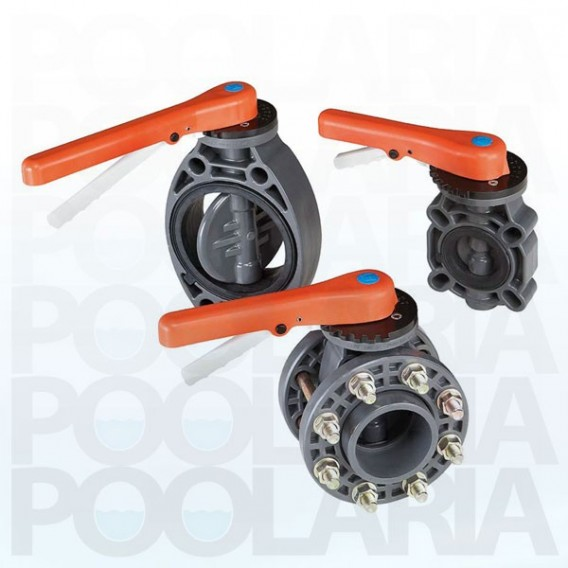 Válvula de mariposa en PVC-U Serie Standard