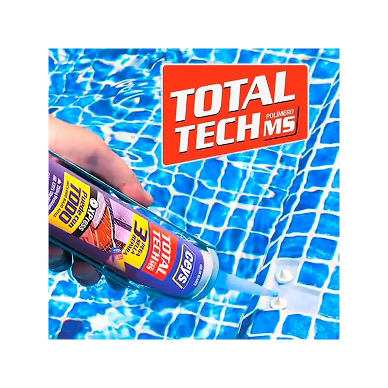 Adhesivo gresite piscina ceys total tech poolaria for Pegamento para piscinas