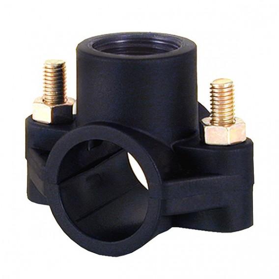 Collarín de toma para tuberías PVC y PE