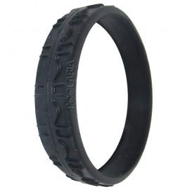 Cubierta de rueda delantera grande negra Zodiac Vortex R0636201