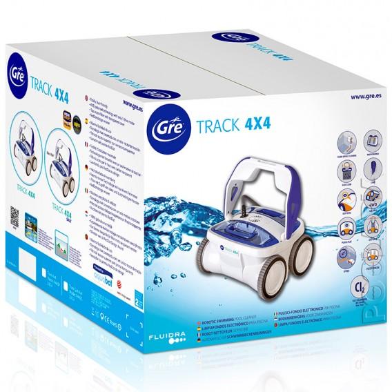 Robot Track Salt 4x4 R44SC limpiafondos con clorador salino