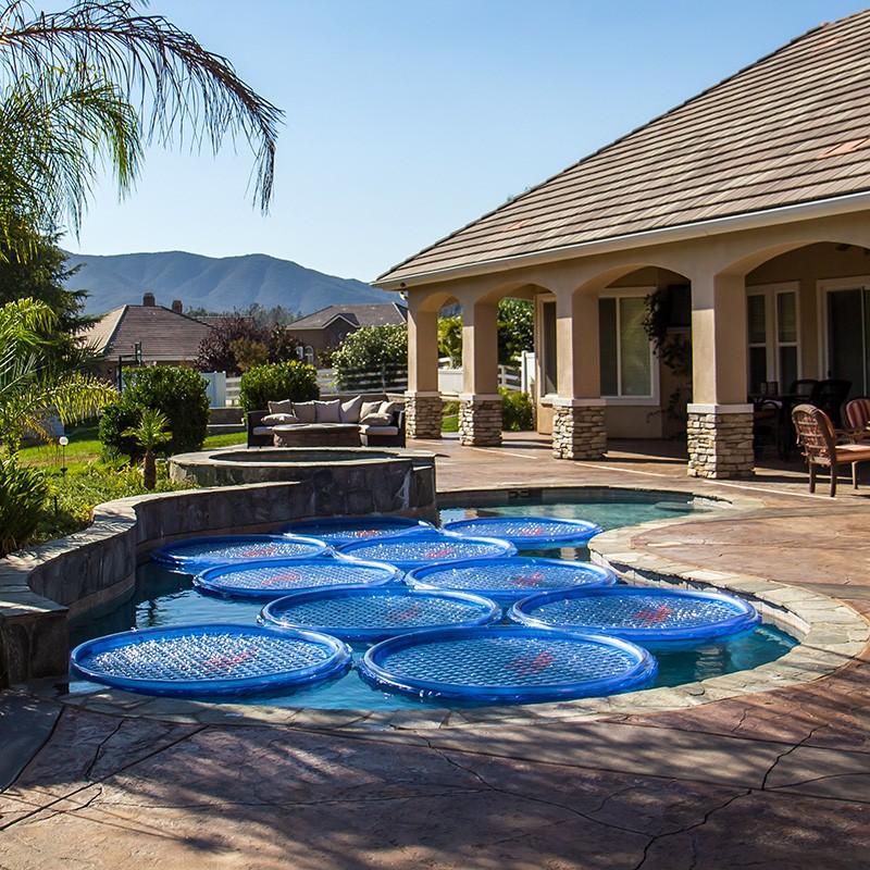Solar sun rings est ndar aro calentador solar piscina poolaria - Calentadores solares para piscinas ...