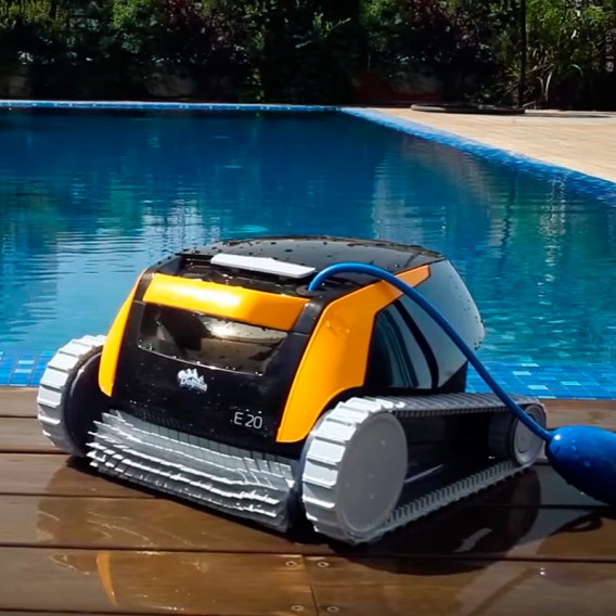 Dolphin E20 robot limpiafondos piscina