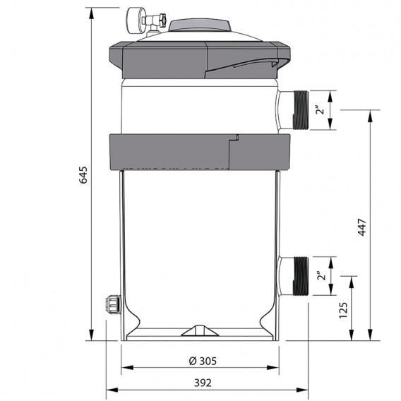 Filtro de cartucho NanoFiber AstralPool