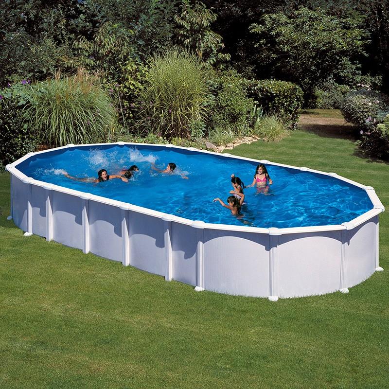 piscina gre haiti ovalada acero chapa blanca poolaria
