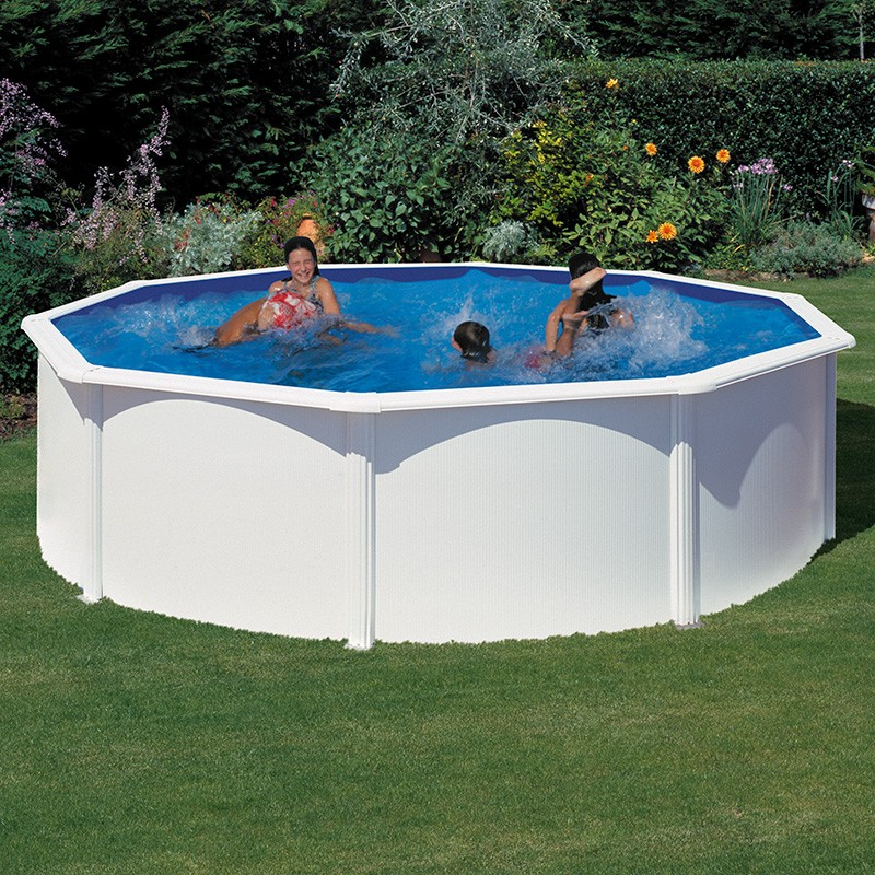 Como enterrar una piscina desmontable fabulous piscina for Suelo piscina carrefour