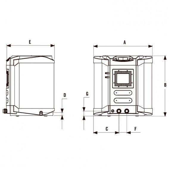 Dimensiones AstralPool Heat II