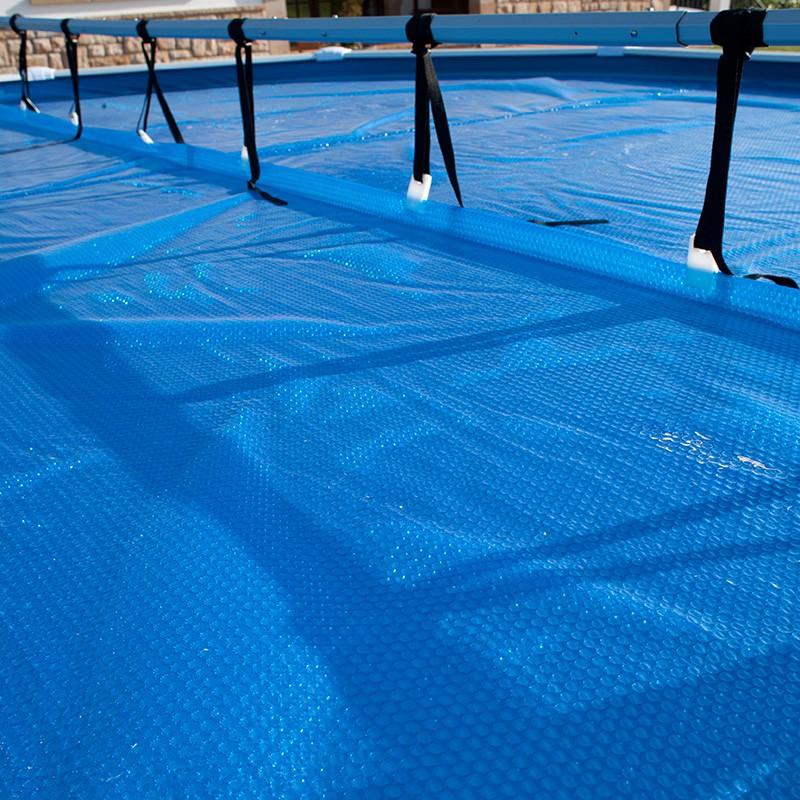 Enrollador de manta piscina desmontable gre 40135 poolaria for Fabriquer enrouleur piscine