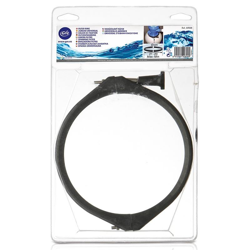 Zuncho universal filtro gre ar508 poolaria for Accesorios piscinas desmontables