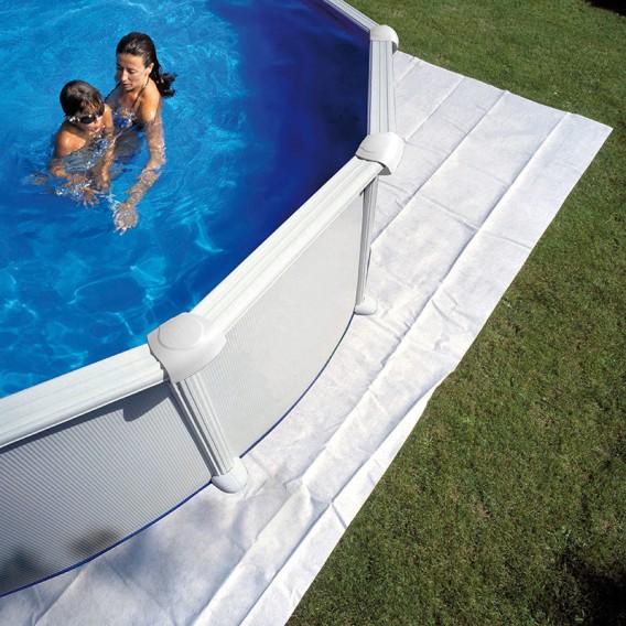 Manta protectora de suelo piscina Gre
