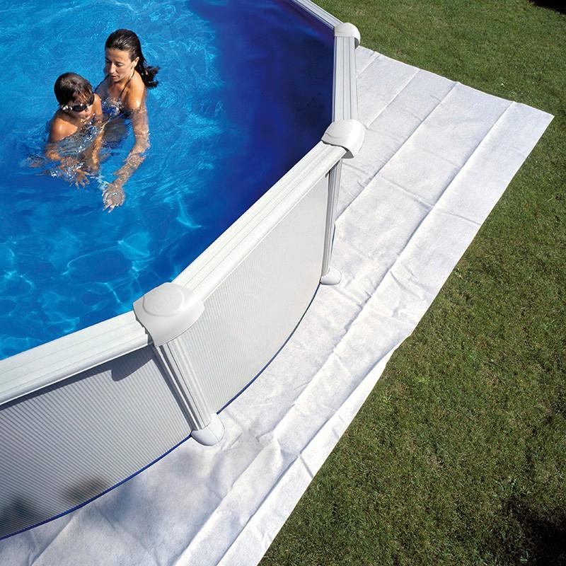 Manta protectora de suelo piscina gre poolaria - Piscinas prefabricadas desmontables ...