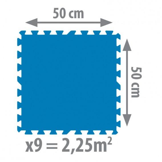 Dimensiones tapiz de suelo Gre