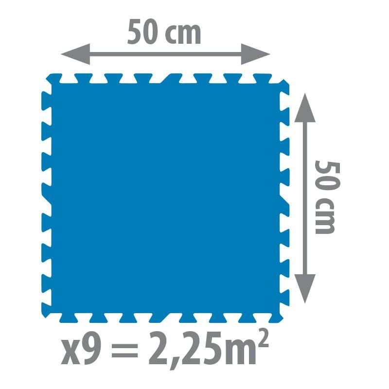 Tapiz de suelo para piscinas desmontables gre poolaria for Protector suelo piscina