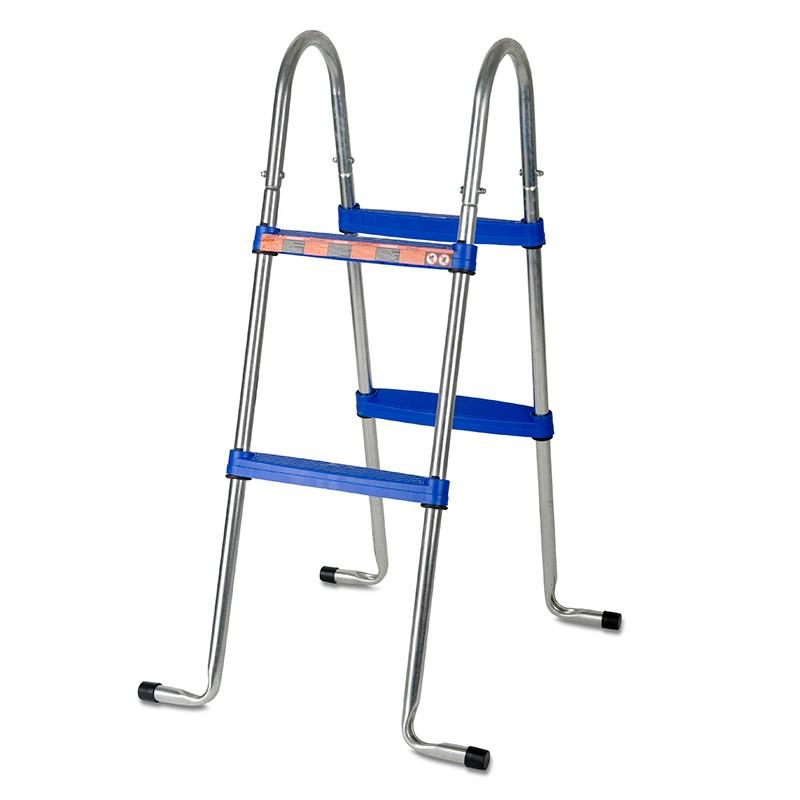 Escalera tipo tijera para piscina desmontable 98 cm gre for Escalera piscina desmontable