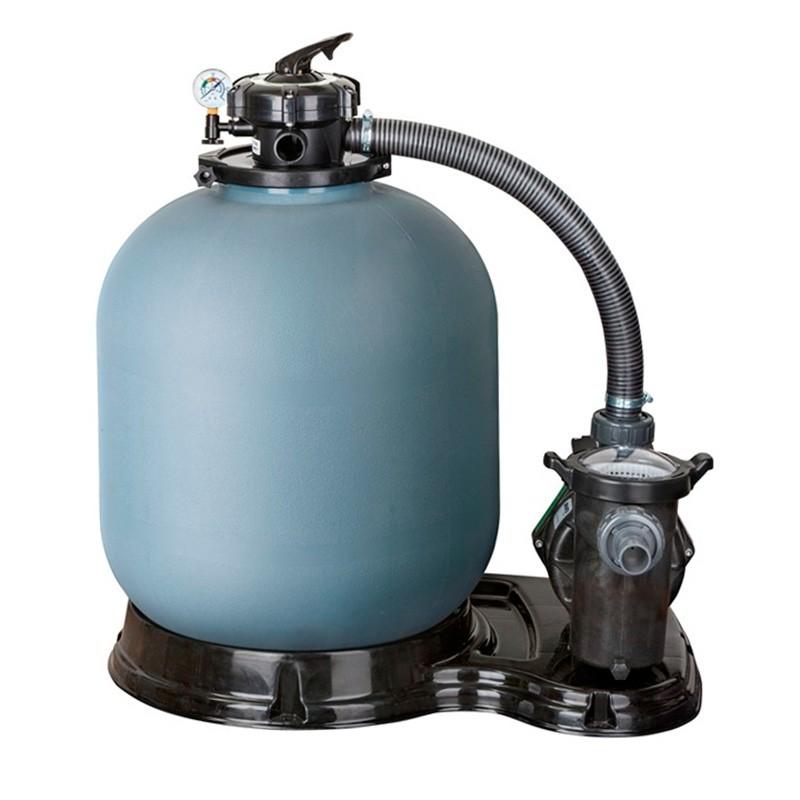 filtro de arena gre depuradora piscina con bomba poolaria