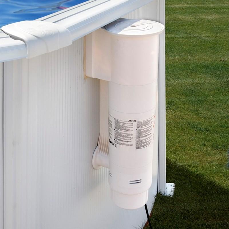 Filtro de cartucho gre ar125 l h 70w poolaria for Accesorios piscinas desmontables