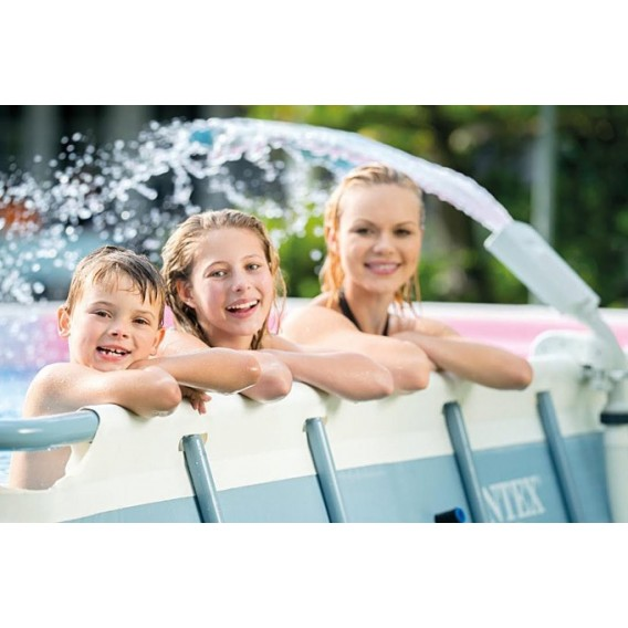 Fuente con LED multi-color para piscina Intex 28089