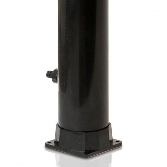 Base con conexión manguera ducha solar Gre AR1009