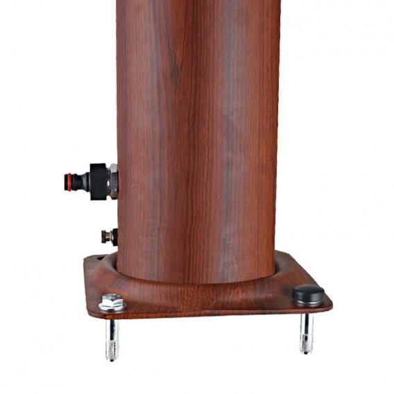 Base con toma de agua ducha solar Gre DSALR32W