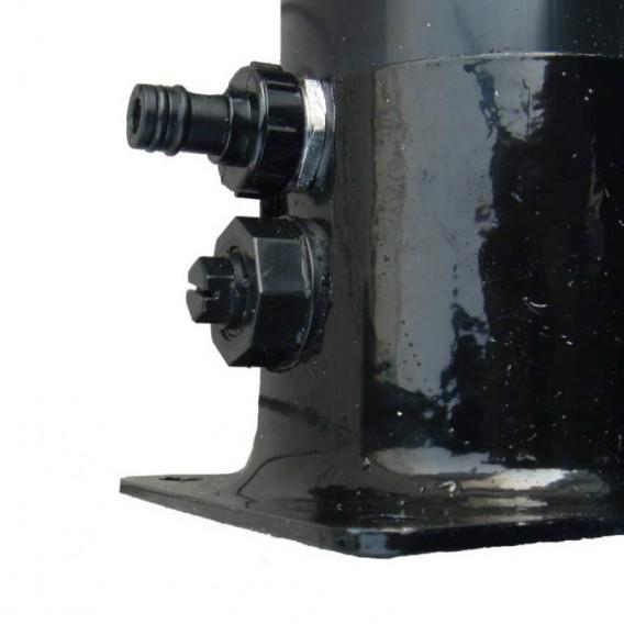 Toma de agua y tornillo de drenaje ducha solar Gre AR1030