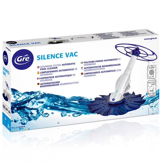 Limpiafondos Silence VAC 90397