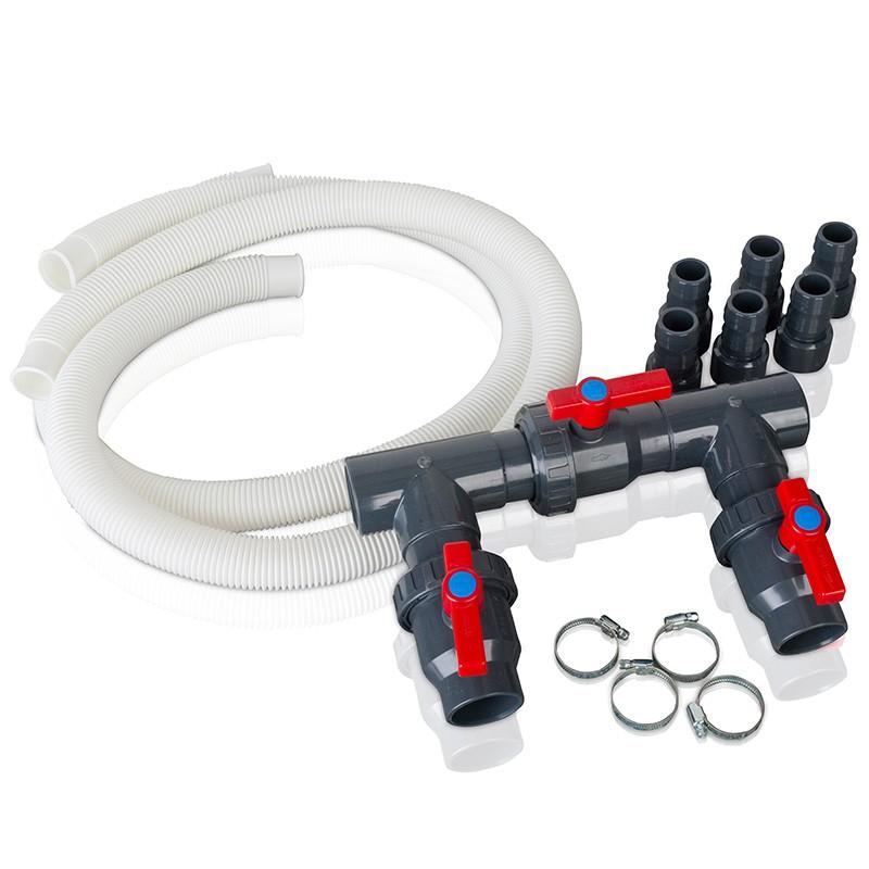 Kit bypass bomba de calor gre ar2000 poolaria for Instalacion bomba piscina