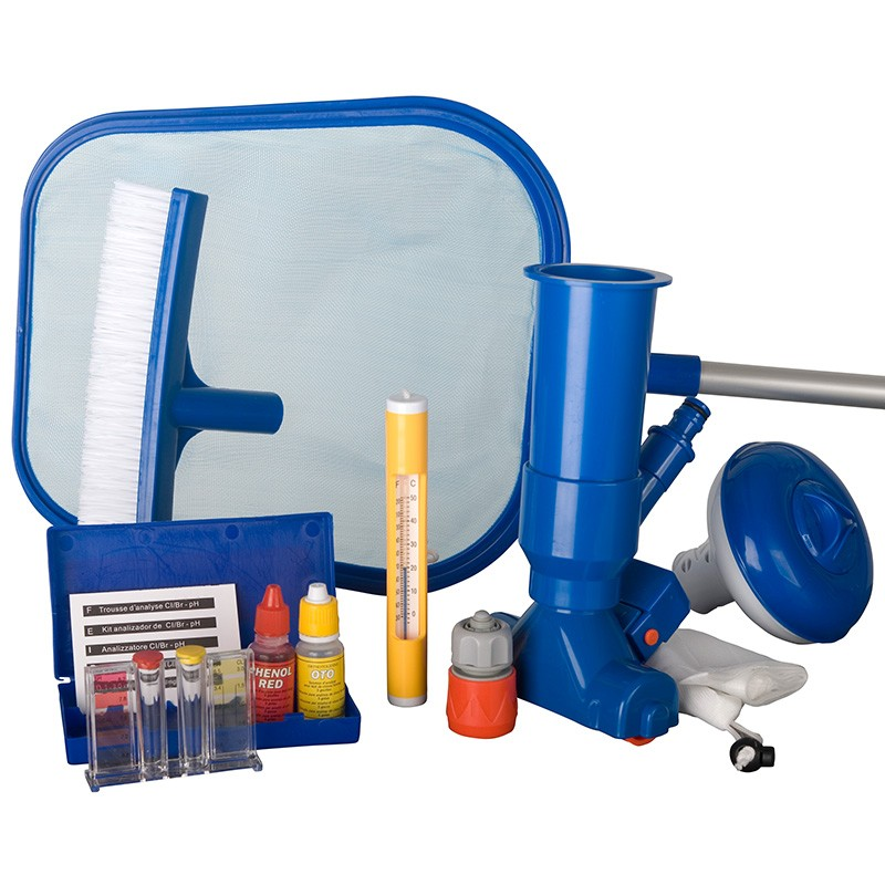 kit de mantenimiento piscina desmontable gre 08050 poolaria