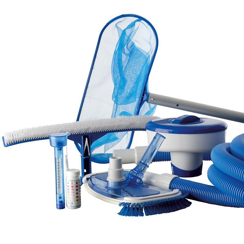 Kit limpiafondos y mantenimiento gre ar20641 poolaria Limpiafondos para piscinas