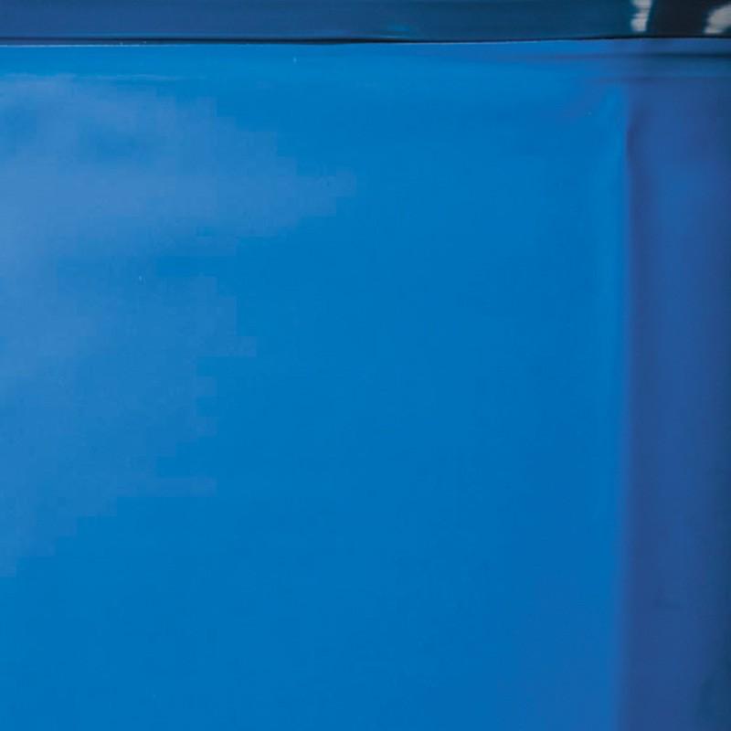 Piscina gre starpool ovalada acero blanca altura 120 cm for Piscina ovalada hinchable