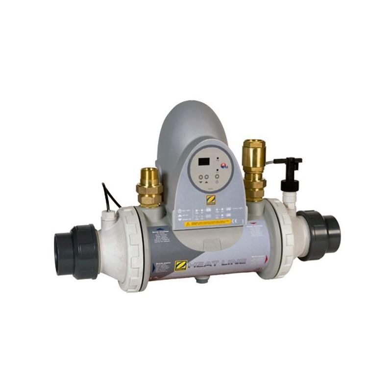 Intercambiador de calor zodiac heat line sin bomba de for Bombas de calor para piscinas zodiac