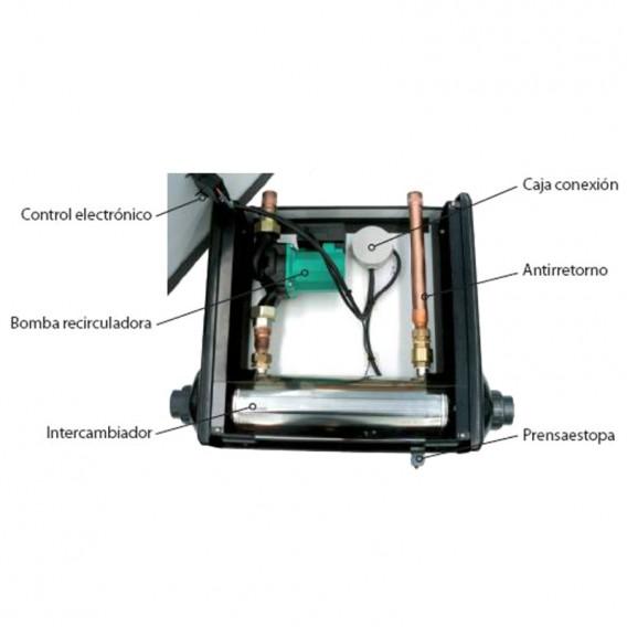 Componentes AstralPool Waterheat equipado