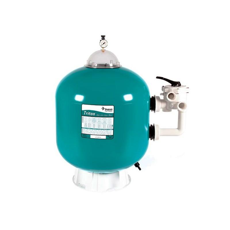 Filtro de arena pentair triton i lateral depuradora for Depuradora piscina arena