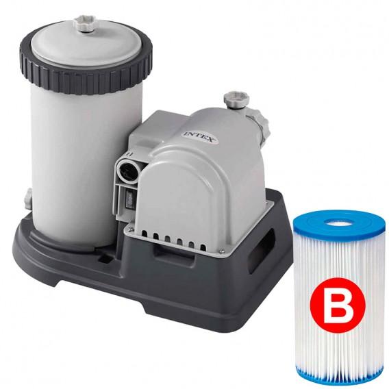 Depuradora de cartucho Intex 9.463 l/h 28634