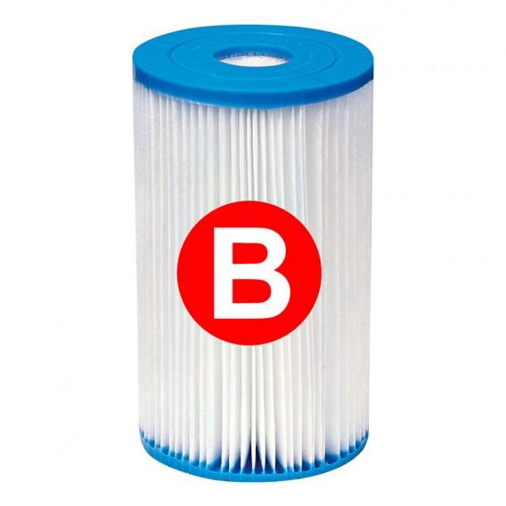 Cartucho filtración Intex Tipo B
