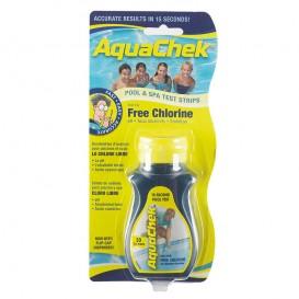 AquaChek Amarillo tiras analíticas cloro libre