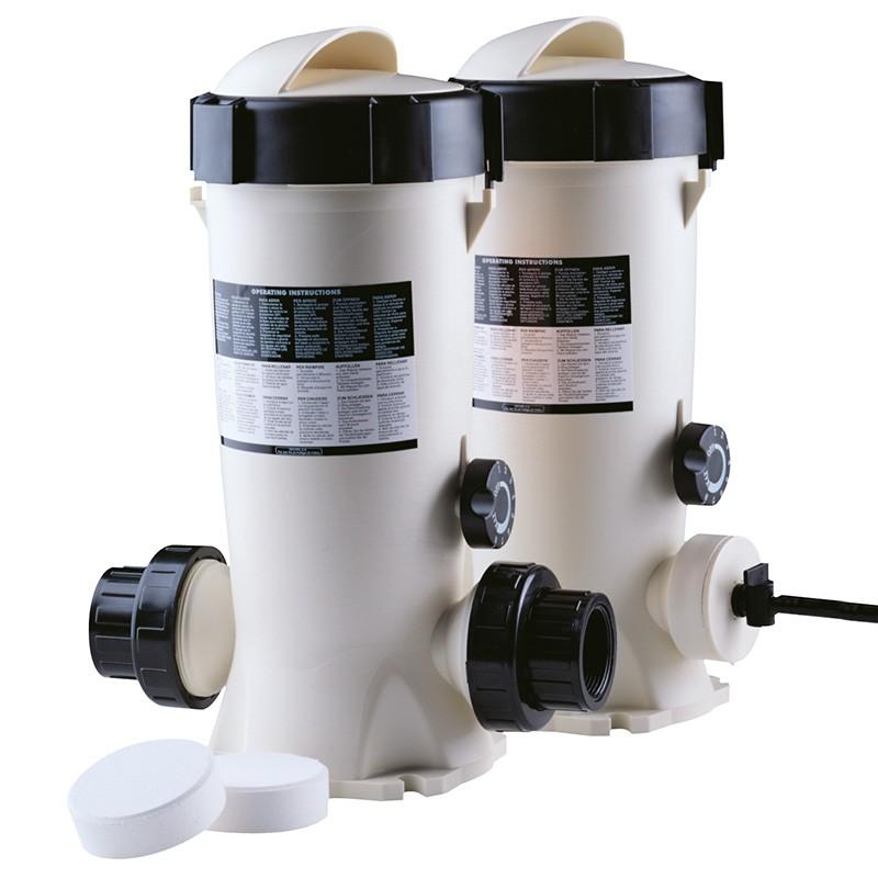 Dosificador cloro bromo dossi 3 in line y off line poolaria for Bromo para piscinas