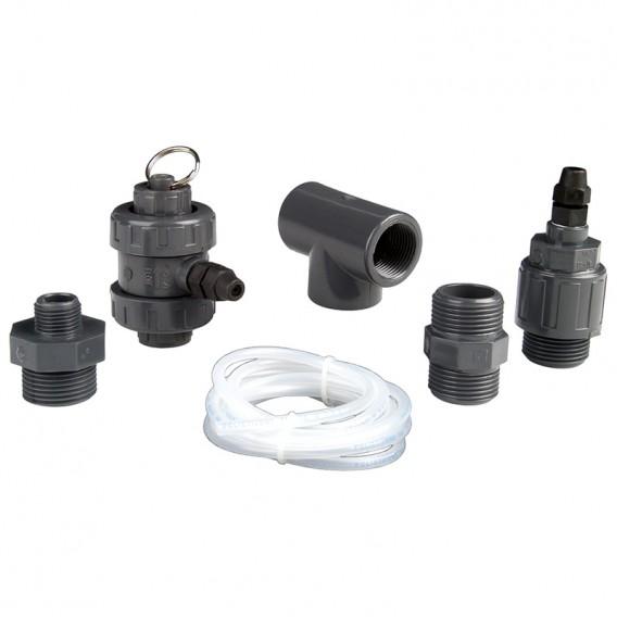 Conjunto válvula seguridad para dosificador compacto