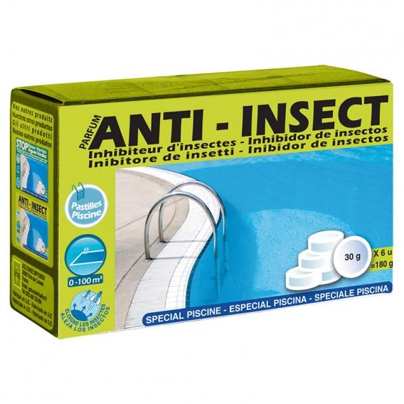 Caja 6 pastillas recambio repelente anti insectos piscinas