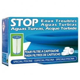 Stop aguas turbias (para filtros de cartucho) SATC6 120g