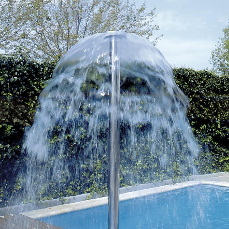Seta inox para piscina astralpool poolaria for Accesorios para piscinas cascadas