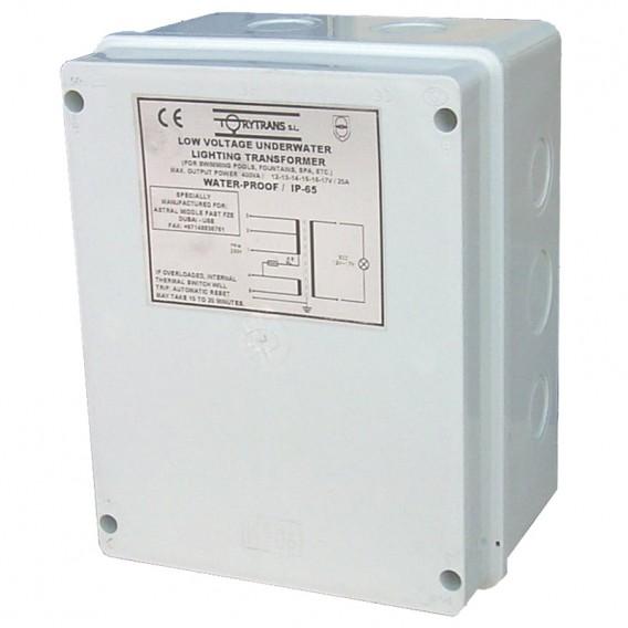 Transformador de seguridad IP-65 encapsulado para piscina AstralPool