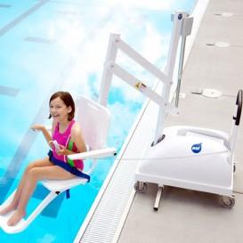 Acceso discapacitados piscina