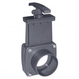 Válvulas guillotina PVC