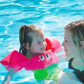 Manguitos flotadores piscina