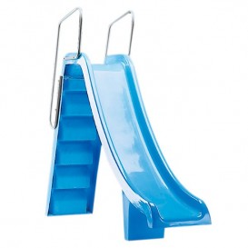 Trampolines y toboganes para piscina