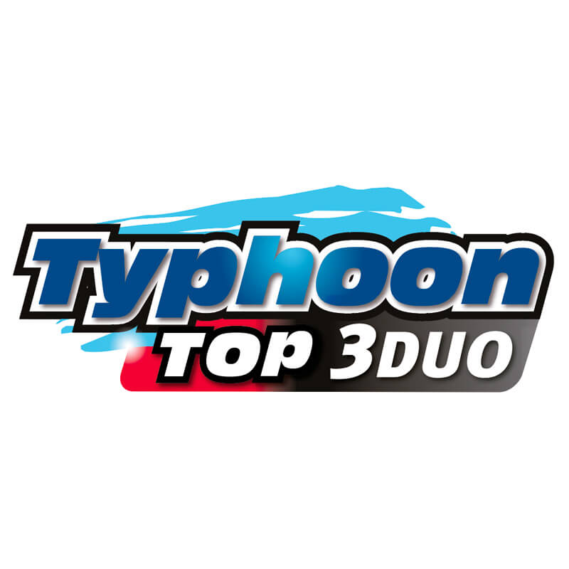 Logotipo Typhoon Top 3 Duo
