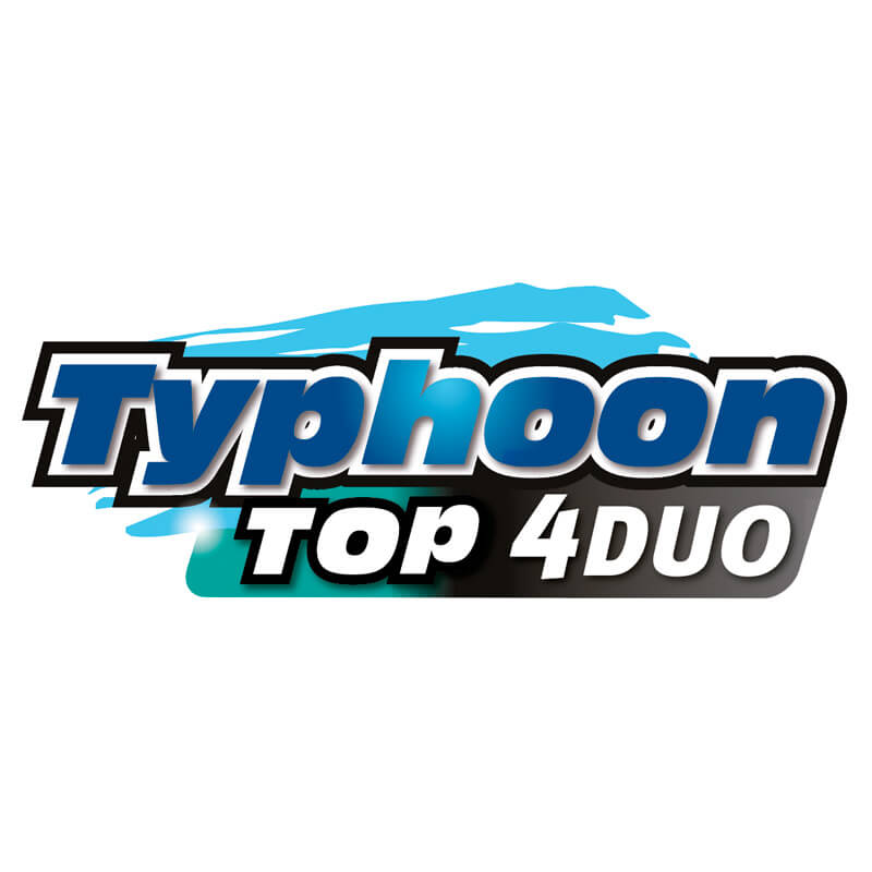 Logotipo Typhoon Top 4 Duo