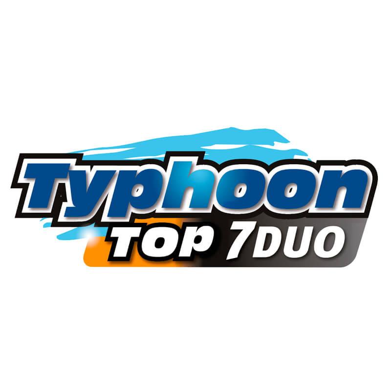 Logotipo Typhoon Top 7 Duo