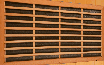 Emisores de carbono sauna Luxe