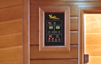 Panel de control sauna Luxe